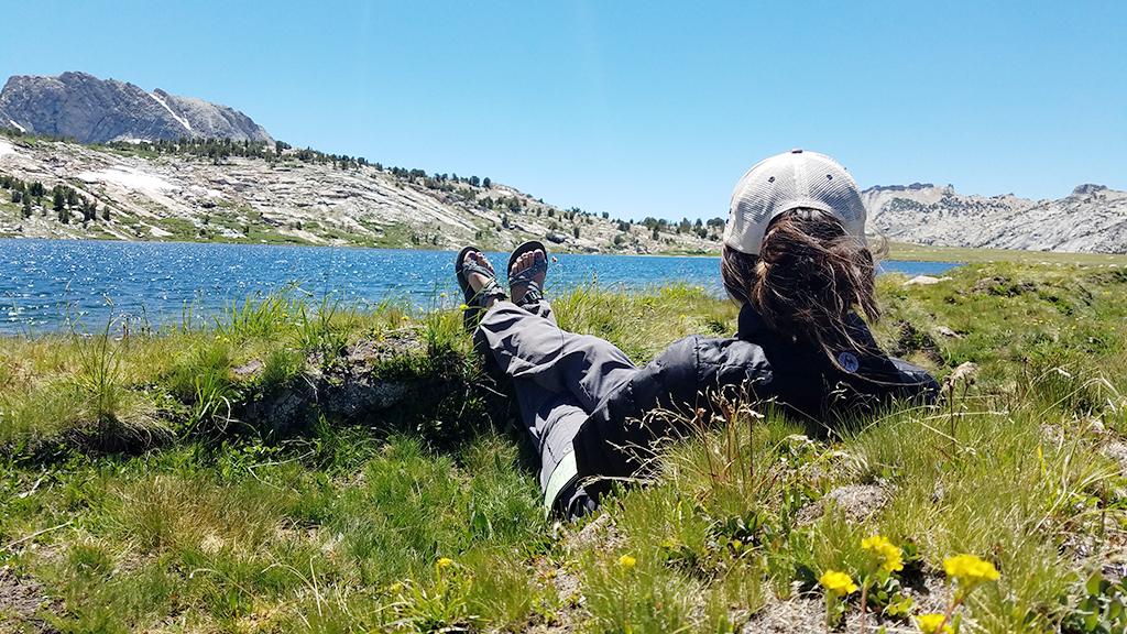 Voglesang High Sierra Camp Evelyn Lake
